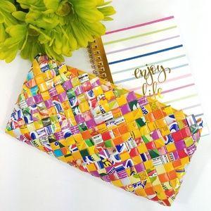 """Handbags - Coolest """"Gum Wrapper"""" purse/clutch!!"""